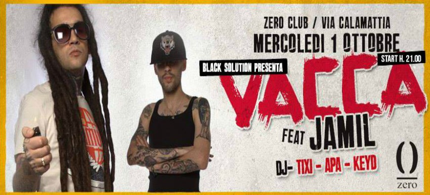 BLACKSOLUTION | VACCA feat JAMIL | ZERO CLUB | CAGLIARI | MERC 1 OTT