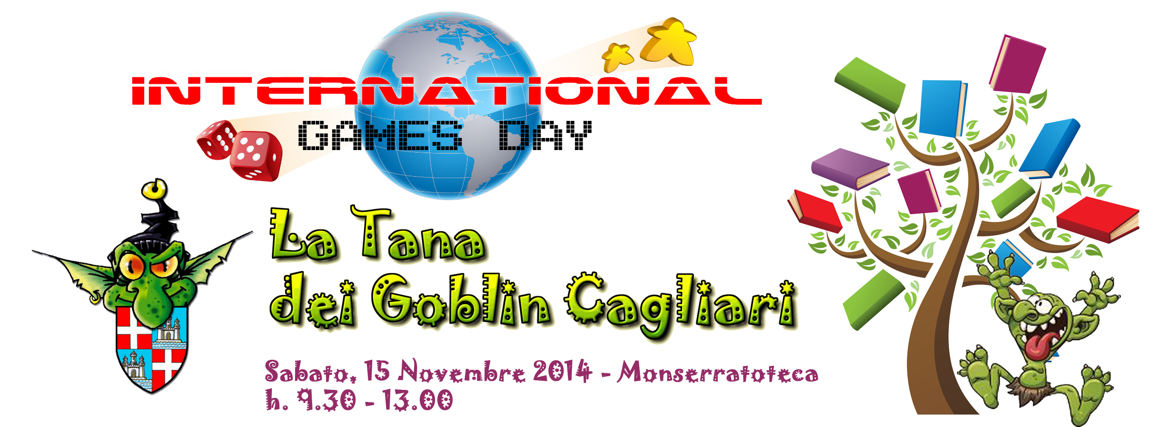 International Games Day @ your library – Sab 15 nov