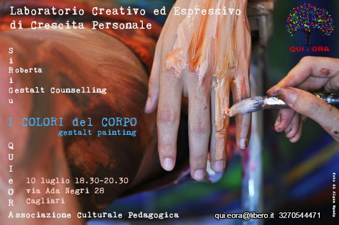 I COLORI DEL CORPO – GESTALT BODY PAINTING