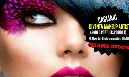 Diventa Make Up Artist: solo 6 posti disponibili, Kit Make Up e Livello Intermedio in omaggio